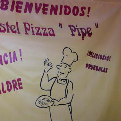 """Pastel Pizza """" Pipe """""""