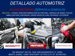 Autolavado y estética automotriz San José
