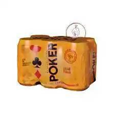 Cerveza Poker en Lata