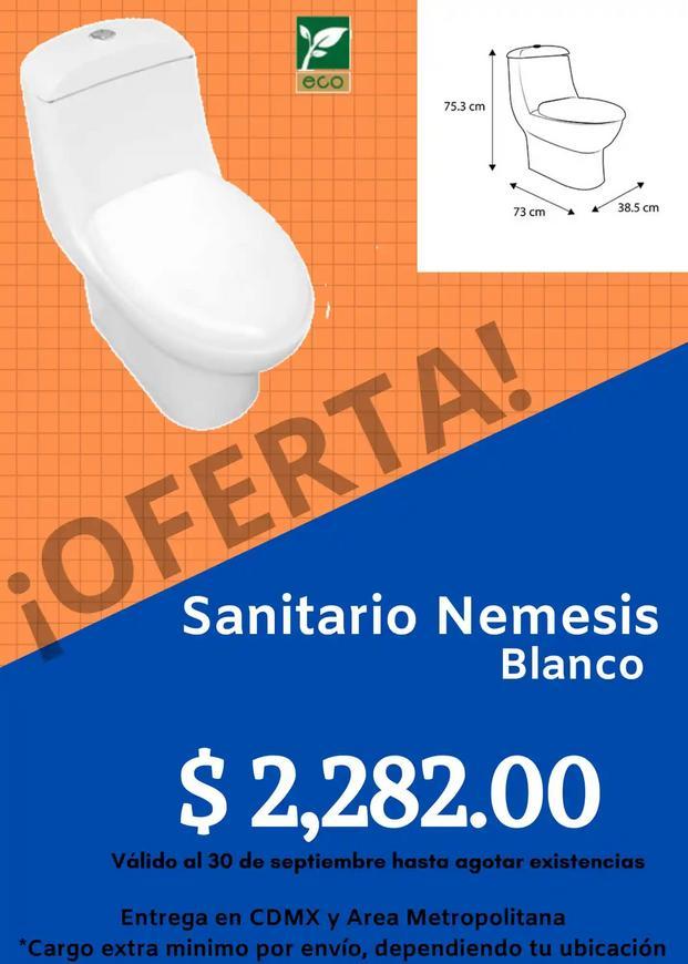 Sanitario Némesis marca Castel