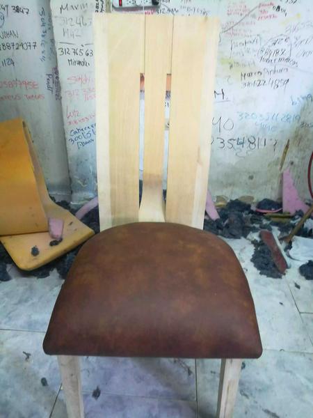 Tapizado de silla para comedor