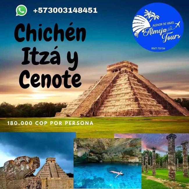 Tour a Chichen Itza y Cenote