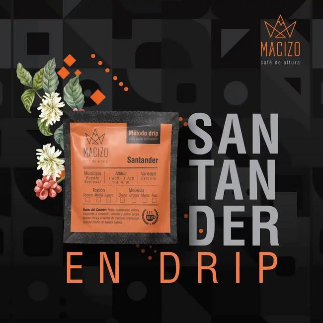Café de especialidad, Santander drip 5 unidades