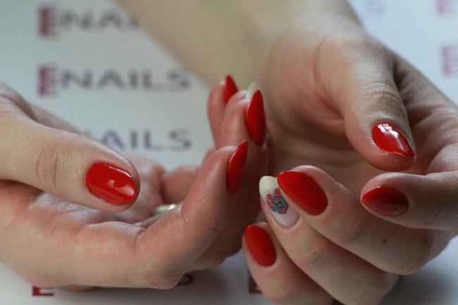 Manicure con gelish