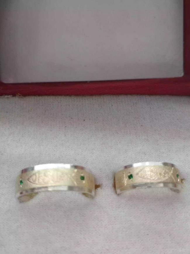 Argollas para matrimonio en oro plata
