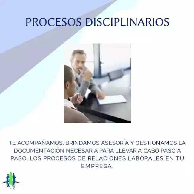 Procesos disciplinarios - contratos laborales