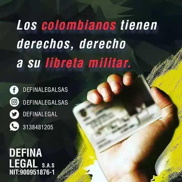 Servicio jurídico para la libreta militar