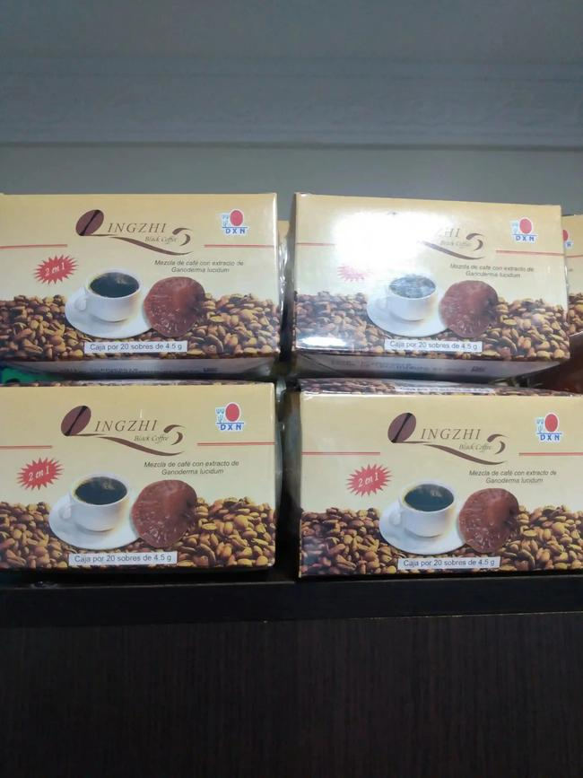 Caja de café negro Ganoderma