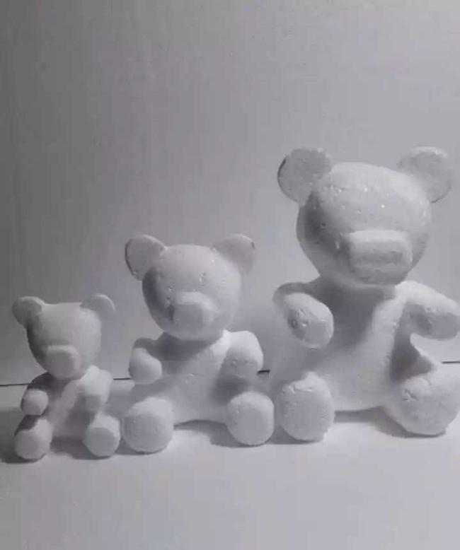 Figuras en icopor 3D de 20 centímetros