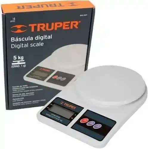 Báscula digital Truper