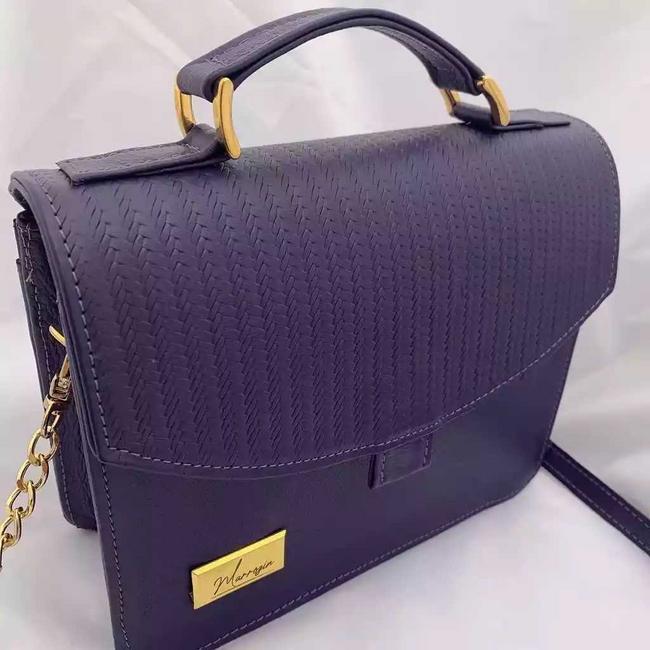Bolso violeta