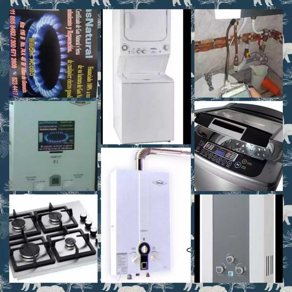 Técnicos y mantenimientos de gas natural Vantí