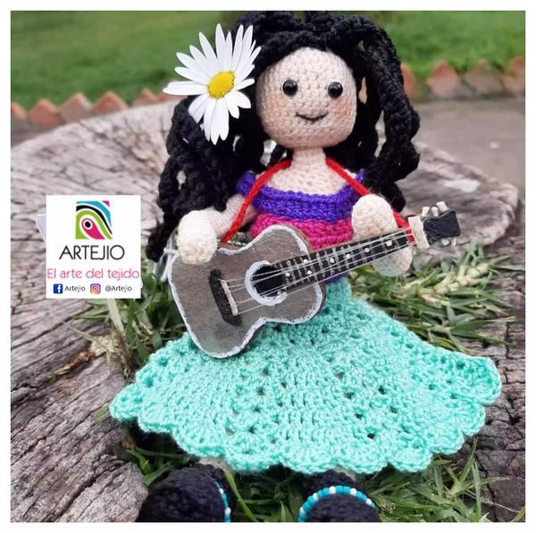 Muñeca en crochet