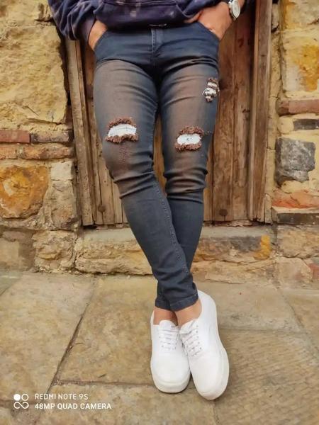 Pantalones skinnyn para hombre