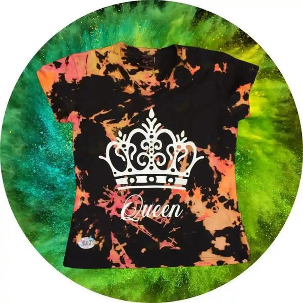 Camiseta estampada S&T 002 QUEEN