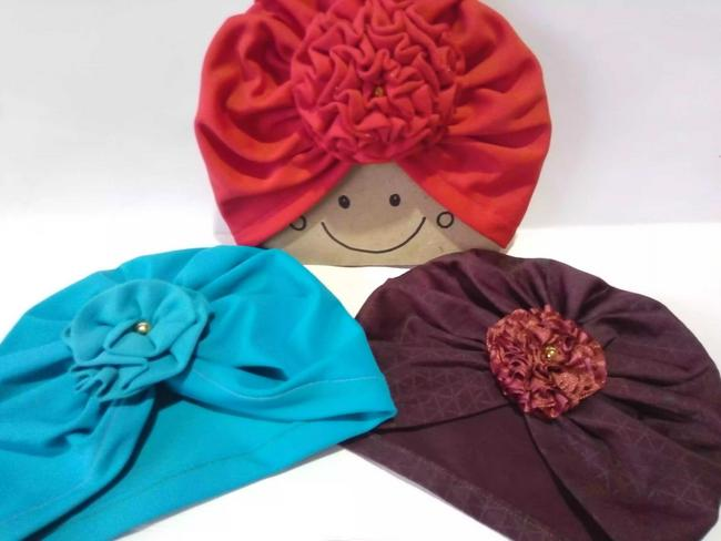 Turbantes para bebé por 2 unidades