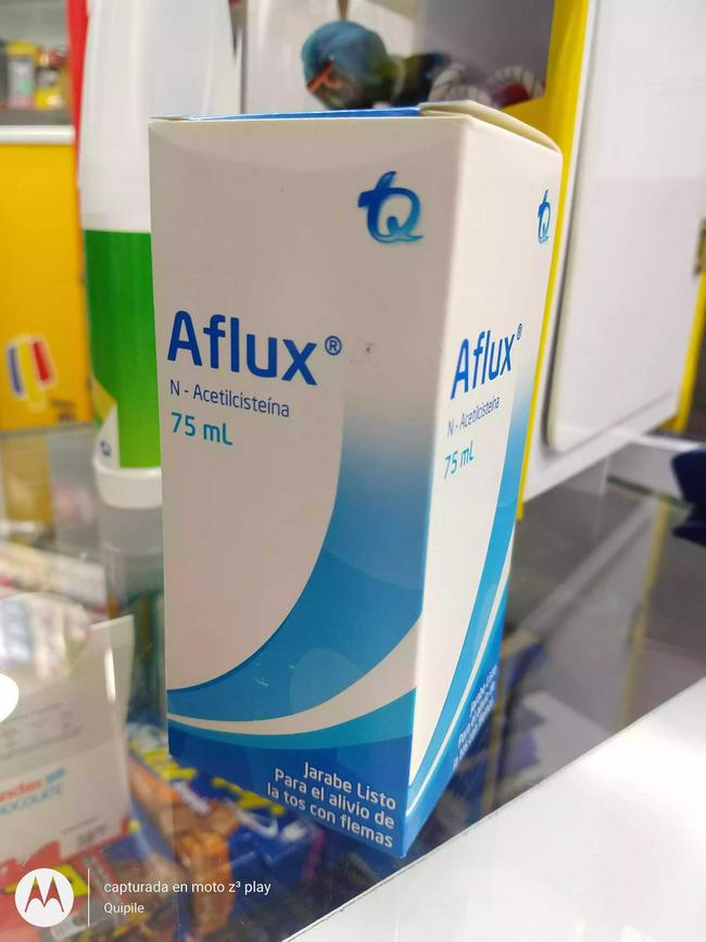 Aflux jarabe 75 ml