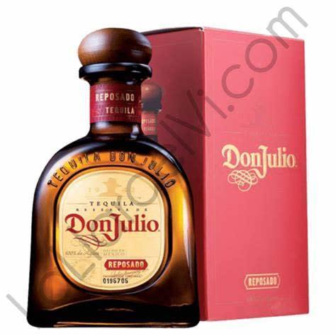Tequila don Julio reposado añejo
