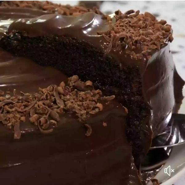 Torta de chocolate con arequipe