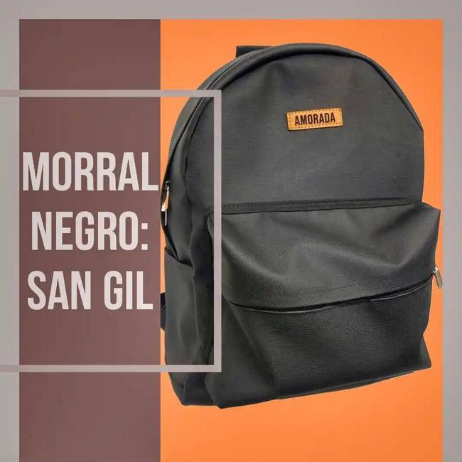 Morral en cuero Eco y lona: San Gil