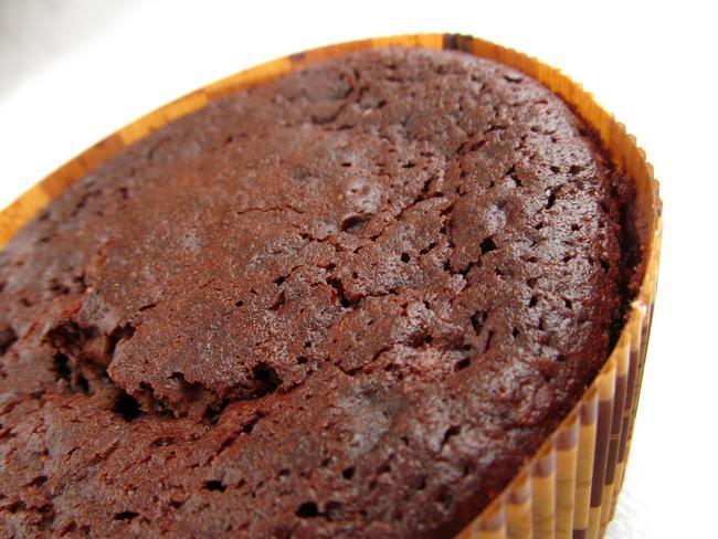 Pastel casero de chocolate