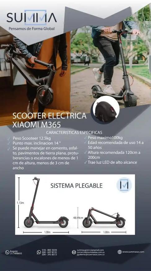 Scooter Eléctrica Xiaomi M365
