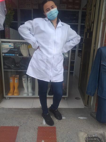 Blusa para laboratorio