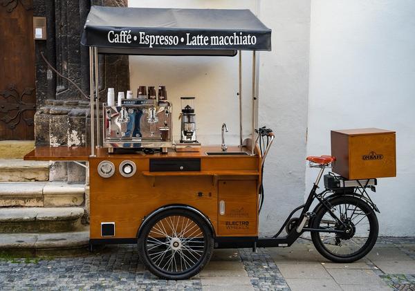 Triciclo para comida