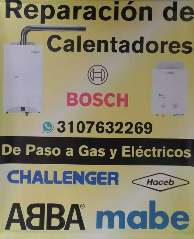 Servicio técnico calentadores