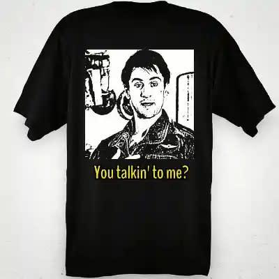 Camiseta Taxi Driver-You talkin to me