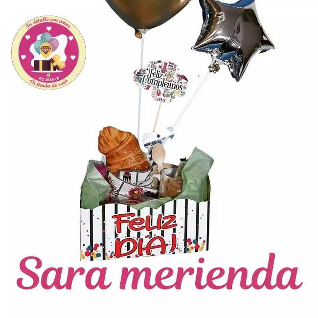 Detalle referencia: Sara merienda