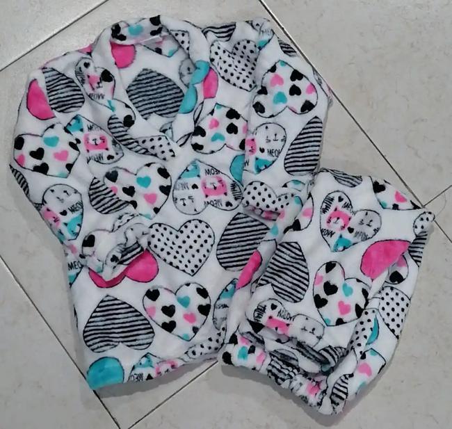 Pijama térmica para niños