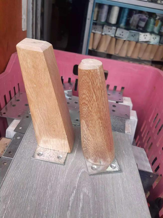 Pata en madera