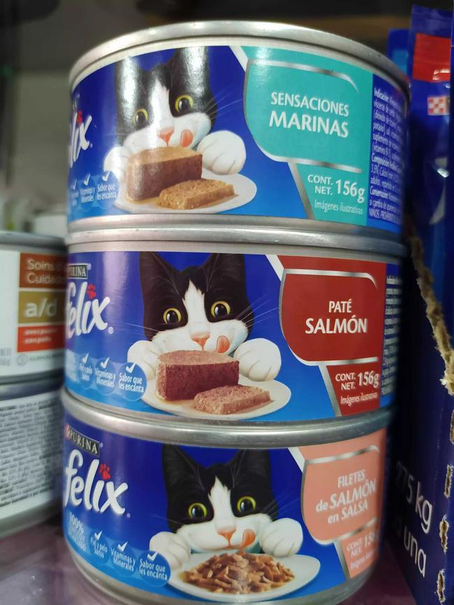Alimento húmedo para gato en lata Felix