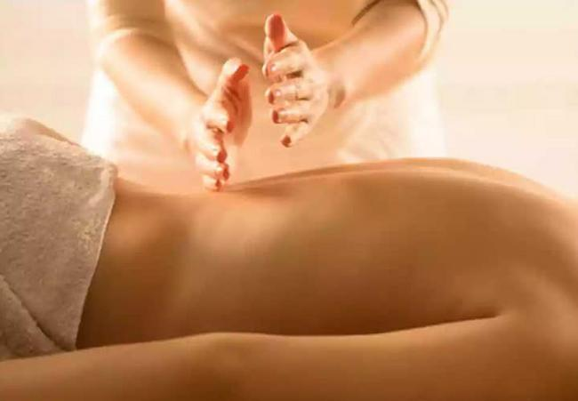 Masaje terapéutico.