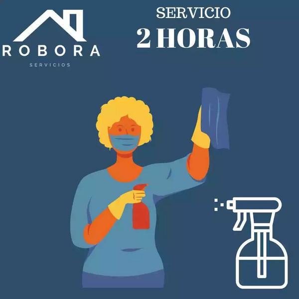Servicio 2 horas de limpieza para el hogar