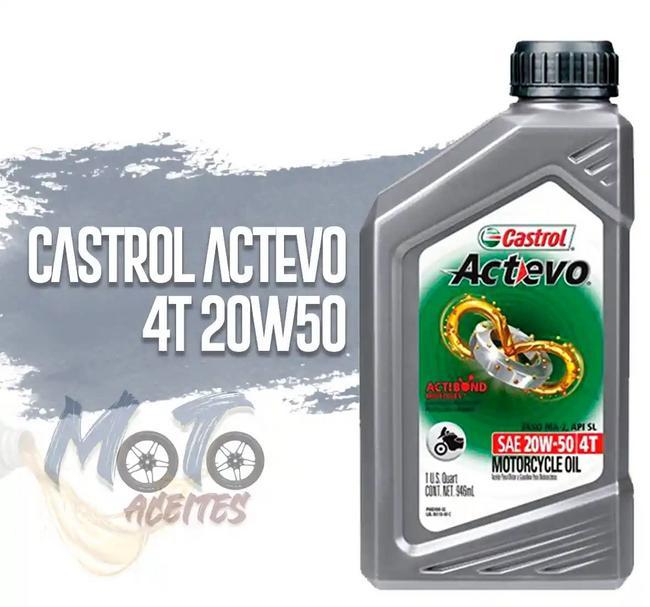 Aceite 20w50 Actevo
