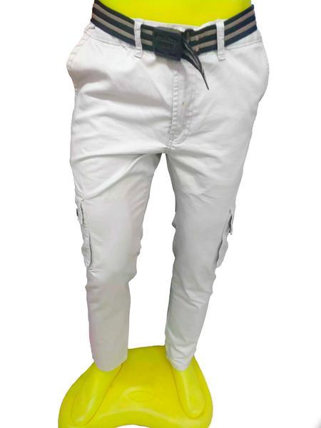 Pantalón de dril camuflado para caballero