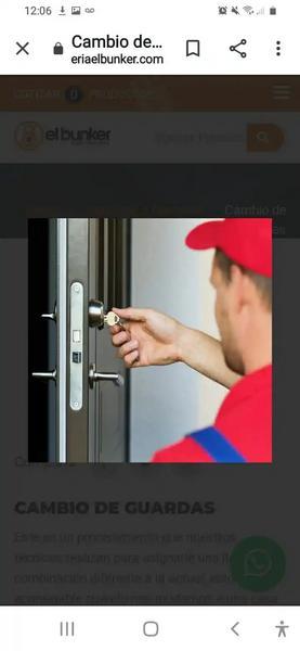 Cambio guardas en casa o apartamento