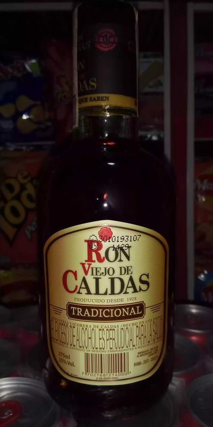Ron viejo de Caldas por botella
