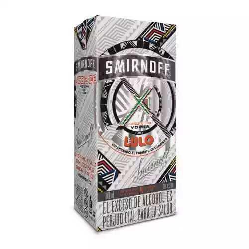 Vodka Smirnoff lulo en litro