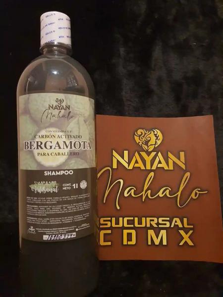 Shampoo Bergamota Carbon Activado (cabello, barba, bigote)