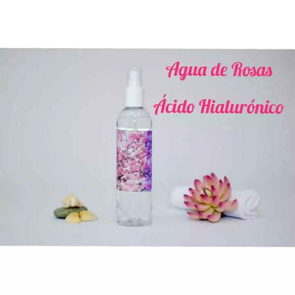 ¡Piel más bonita! Agua de rosas