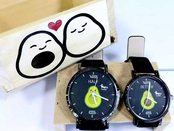 Dúo de relojes para pareja