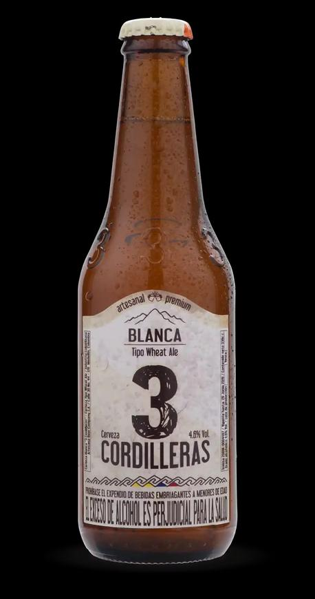Cerveza Cordilleras blanca 330 ml