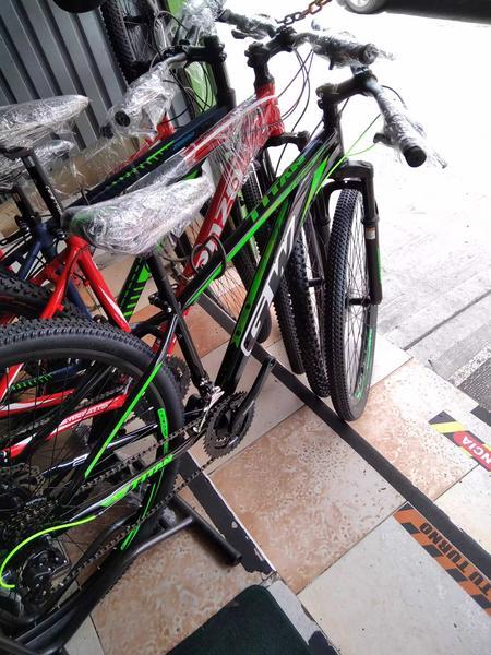 Bicicleta GW acero, rin 29