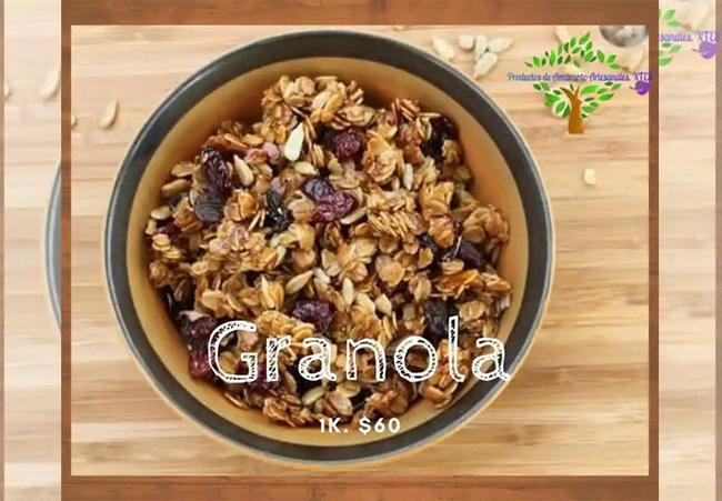 Kilo de granola.