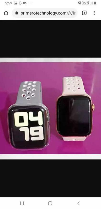 Watch t5 iOS y android + vidrio protector