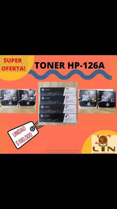 Toner HP láserjet Pro 126A originales.