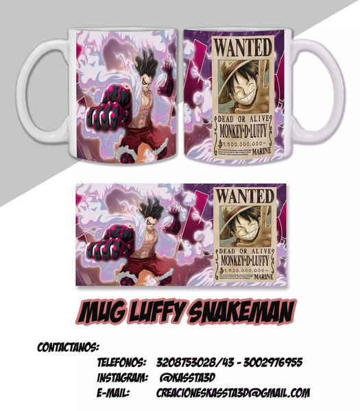 Mugs diseño One Piece